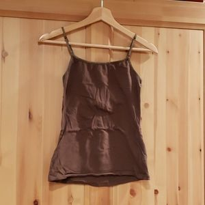 Ambiance Apparel Brown Camisole